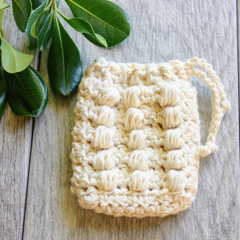 Farm Crochet Soap Sack