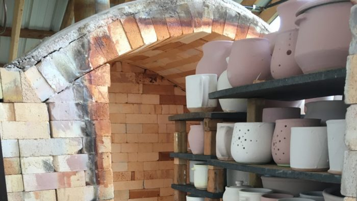 Swallowtail Pottery Pieces Kiln
