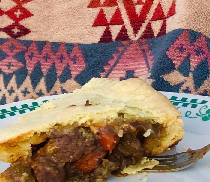 Wild West Bison Pie