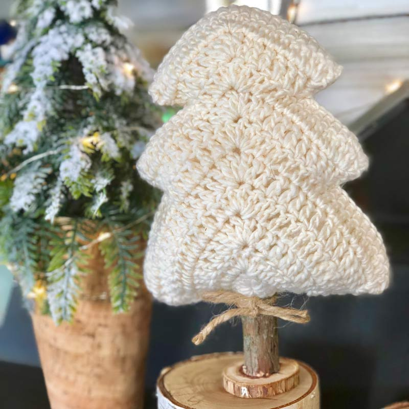 Farm Crochet Winter Solstice Tree